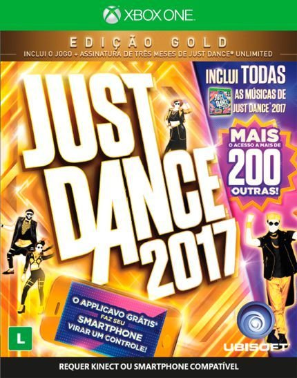 Just Dance 2017: Gold Edition Xbox One - Mídia Digital