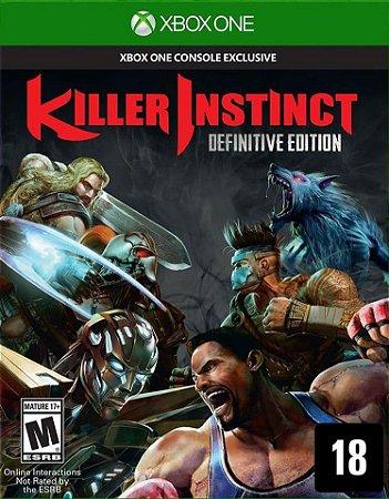 Killer Instinct: Definitive Edition  Xbox One - Mídia Digital