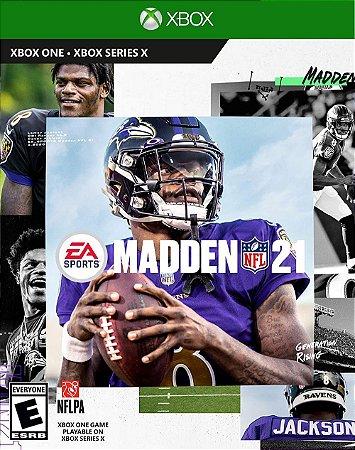 Madden NFL 21 Xbox One - Mídia Digital