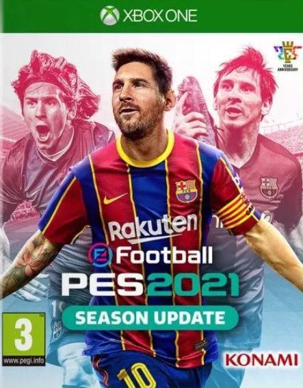 PES 21 Season Update Xbox One - Mídia Digital