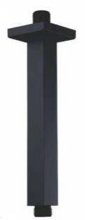 HASTE DE TETO PARA DUCHA 20CM - BLACK MATTE - LX07B