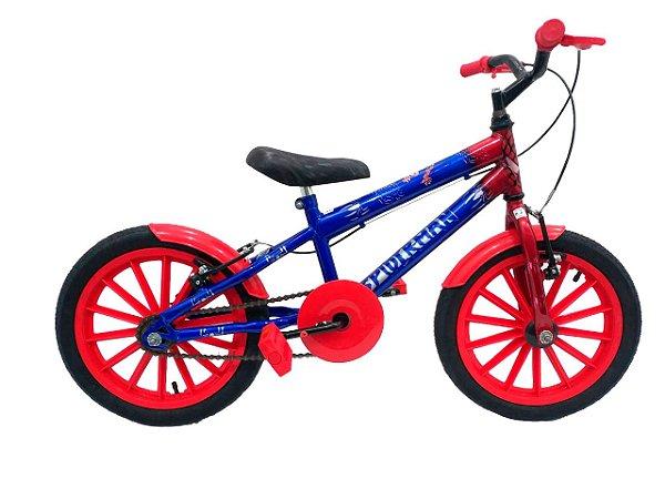 Bicicleta Infantil Aro 16 Homem Aranha