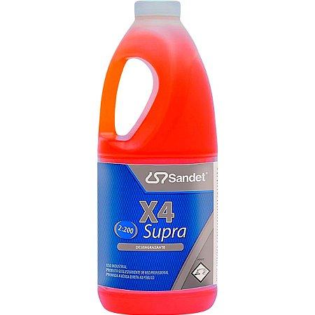 Solupan X4 Supra Desengraxante Concentrado Sandet 2l