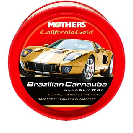 Cera Carnauba Cleaner Wax Mothers California Gold