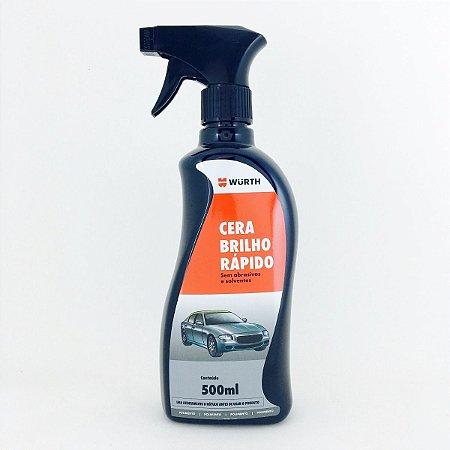 Cera Brilho Rápido Wurth - Cera liquida de carnauba 500ml