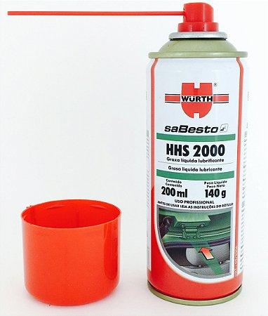 HHS 2000 Wurth Graxa Liquida Lubrificante 200ml