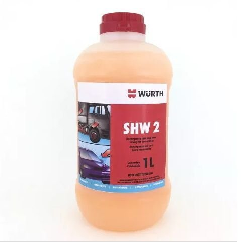 Shampoo Automotivo Com Cera Wurth - SHW 2