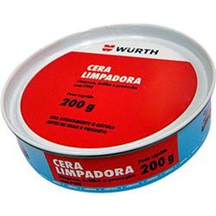 Cera Limpadora Wurth 200g - Com Carnaúba