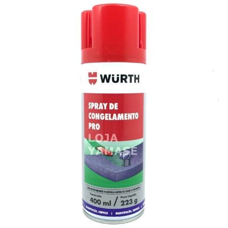 Spray de Congelamento congelante Pro - Wurth 400ml