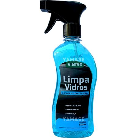 Limpa Vidros automotivo Espelhos Box Manchas Spray 500ml - Vonixx