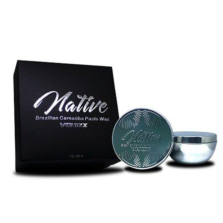 Cera Native Carnaúba Paste Wax 200g Vonixx Cristalizadora Automotiva