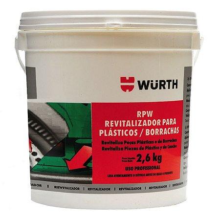 Rpw Revitalizador De Plástico E Borracha Wurth 2.6kg