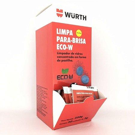 Limpa Para-brisa Eco-W 5g Wurth em pastilha - (50 Unidades)