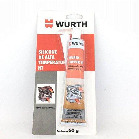 Silicone Neutro HT de Alta Temperatura 60g Copper (Cobre) Wurth