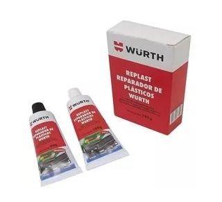 Replast Reparador De Plásticos 190g Wurth