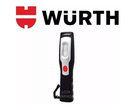 Lanterna Led Recarregável Com Imã Tecnologia Cob Wurth