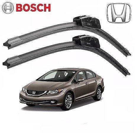 Palheta Limpador Parabrisa Bosch Honda Civic 2012 A 2016