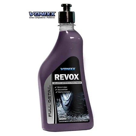 Revox Selante Sintético para Pneus Vonixx 500ml Resistente A Agua