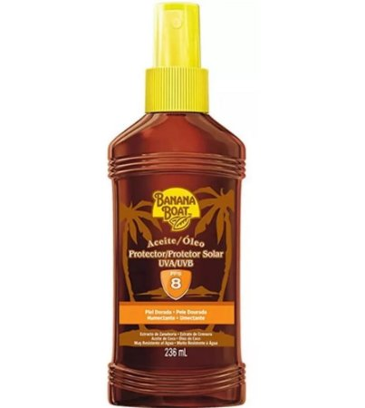 Bronzeador Banana Boat Spray - Bronzeamento Natural