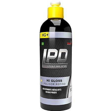Hi Gloss LPD Lincoln Polidor Para Refino Pré Lustro Hg