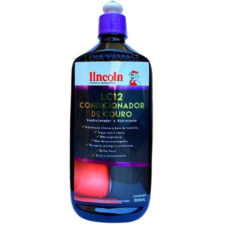 Condicionador de Couro Lincoln LC12 500ML