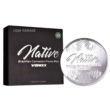 Native Pasta Vonixx Cera Automotiva Carnaúba Cristalizadora