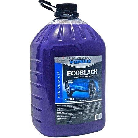 Ecoblack Vonixx Finalizador De Caixa De Rodas Automotivas 5 litros
