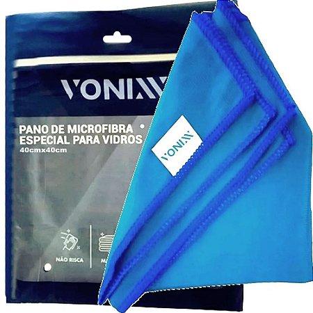 Toalha Pano Flanela Microfibra De Secagem Para Vidro Vonixx