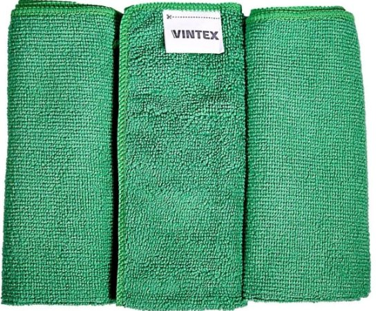 3un Flanela Pano Microfibra Limpeza Automotiva 40x35 Vonixx