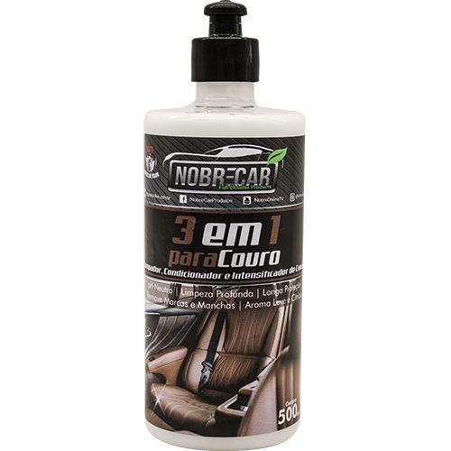 Limpador E Hidratante De Couro Nobre Car 3 Em 1 P/ Couro