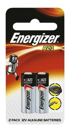 Pilha A23 12v Energizer Controle Portão Cerca Elétrica 2 Un