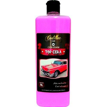 Cera Líquida De Carnauba Top Cera Cadillac Automotiva 1l