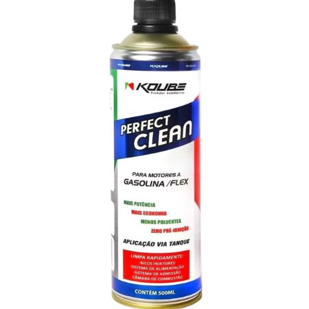 Perfect Clean Flex Gasolina Alcool Etanol Gnv 500ml Koube