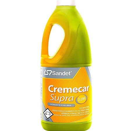 Shampoo Neutro Para Carros Cremecar Supra Sandet 2l
