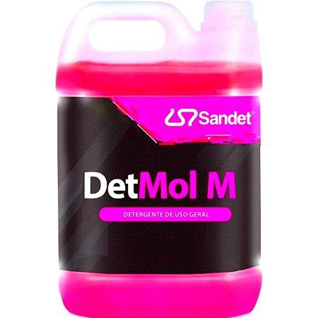 Det Mol M Shampoo Automotivo Super Concentrado Sandet 5l Detmol