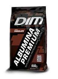CLARA DESIDRATADA ALBUMINA PREMIUM 500G DIM - SABOR CHOCOLATE