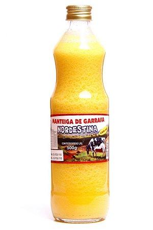 MANTEIGA DE GARRAFA COM SAL 500GR NORDESTINA