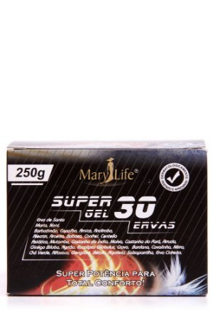 GEL MASSAGEADOR SUPER 30 ERVAS