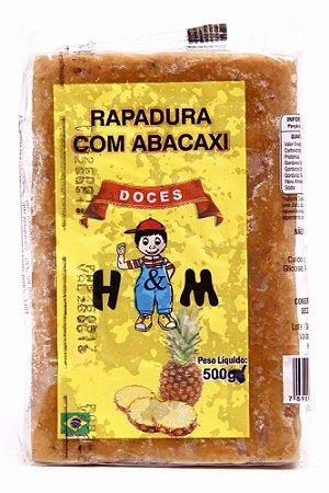 RAPADURA COM ABACAXI 500GR