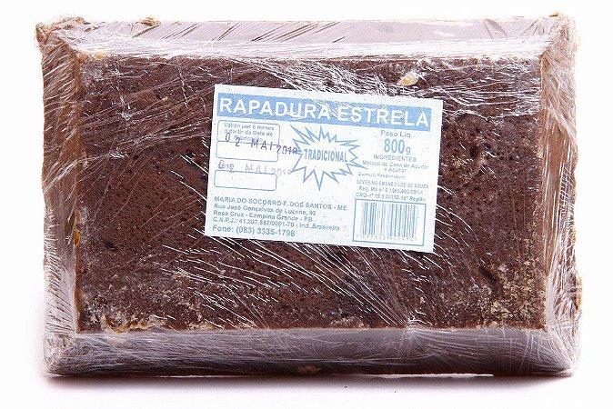 RAPADURA PURA 800GR ESTRELA