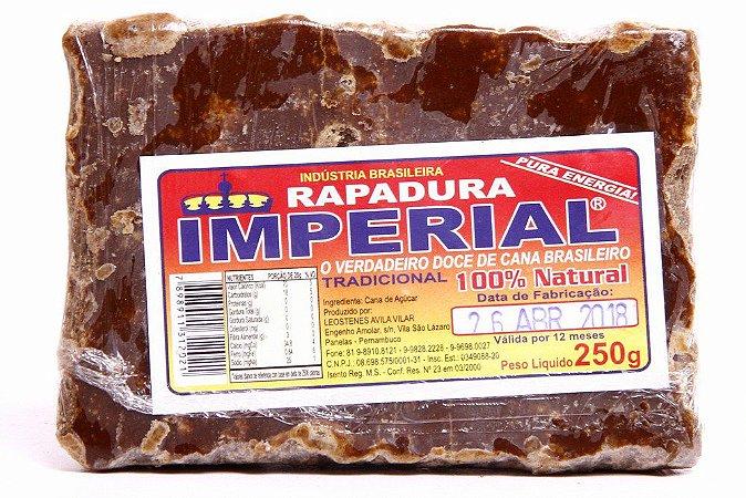 RAPADURA PURA 250GR IMPERIAL
