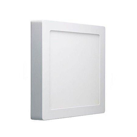 Luminária Led Sobrepor Quadrada 12w / 18w / 24w - Luz Branca - Lumanti