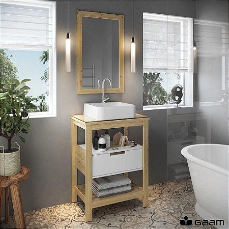 Conjunto Banheiro 60cm - Naturale 600 - Gaam
