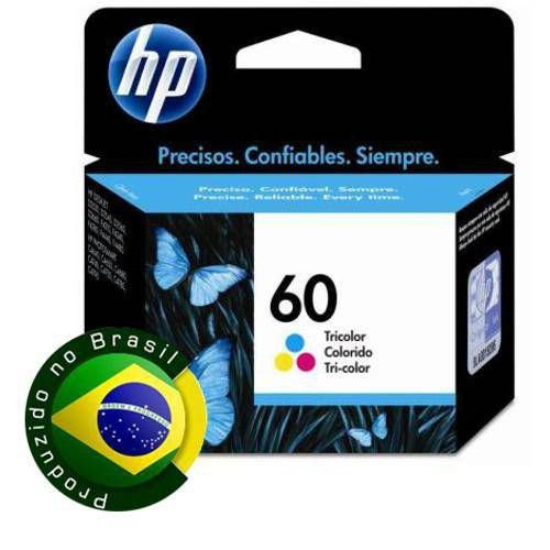 Cartucho De Tinta Hp Suprimentos Cc643wb Hp 60 Tricolor 6,5ml