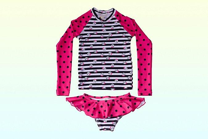 Camisa UV + Calcinha - Panda (Edição Especial)