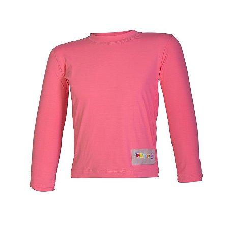 Camisa UV - Rosa Chiclete