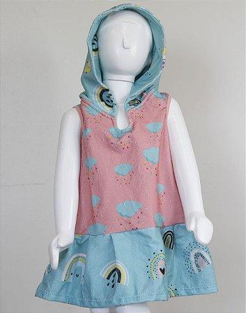 Vestido Toalha - Arco-íris