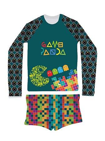 Camisa UV + Sunga Fralda - Games