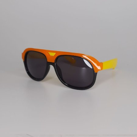 Óculos Aviador Laranja/Amarelo
