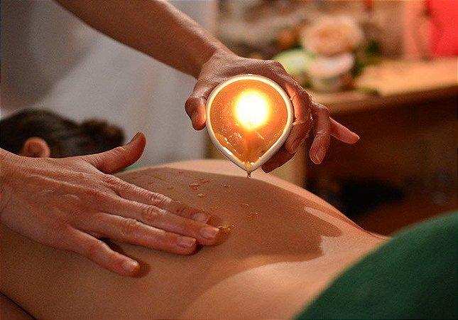 Curso de Candle Massagem  Associe Calor + Aromaterapia + Relaxamento - 20 de Maio